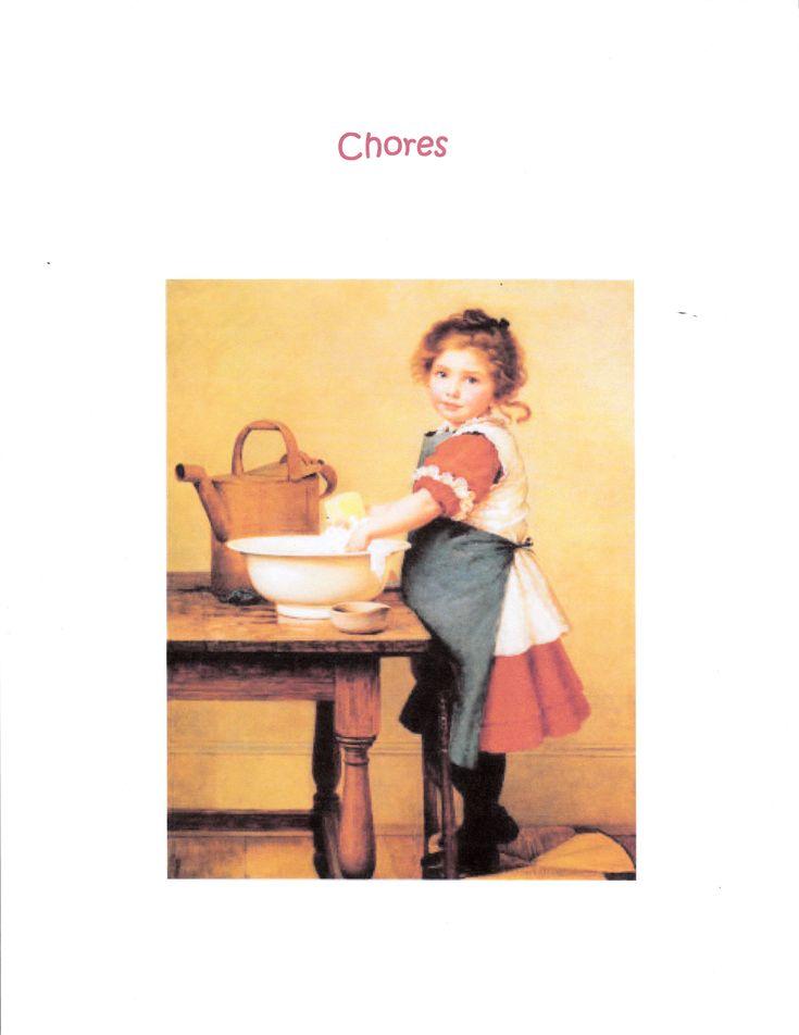 Waldorf ~ Rhythm ~ Household Management Binder ~ Chores