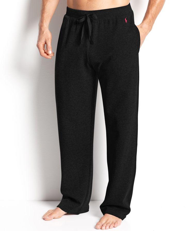 Polo Ralph Lauren Men\u0026#39;s Loungewear, Waffle Thermal Pants - Pajamas, Robes \u0026amp; Slippers -