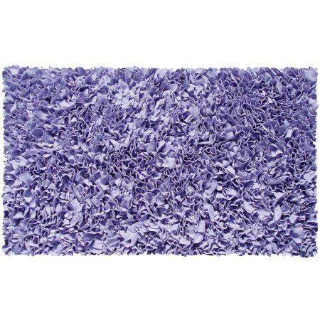 The Rug Market Shaggy Raggy Purple Area Rug, ...