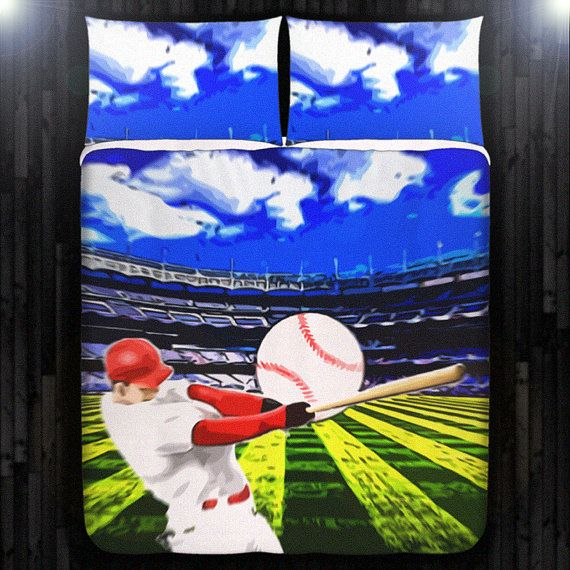 Baseball Duvet Cover Bedding Queen Size King Twin Blanket