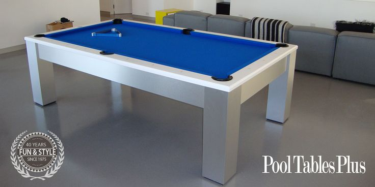 Olhausen Madison Brushed Aluminum Pool Table-Shop Olhausen Pool Tables