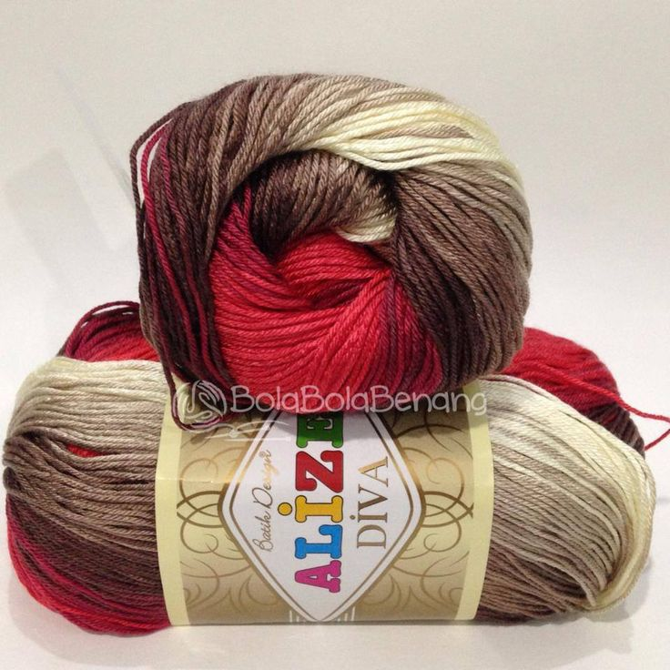 ALIZE DIVA BATIK 4574, Price: 90.000,-/gulung, Bahan: 100% Microfiber Akrilik, Berat/Panjang: 100gr/350m, Knitting Needles: 2,5mm – 3,5mm, Crochet Hook: 1mm - 3mm