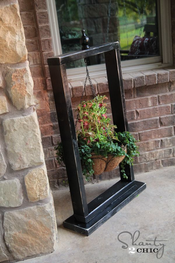 111 best planters and flower pots images on Pinterest ... on Hanging Plant Stand Ideas  id=97967