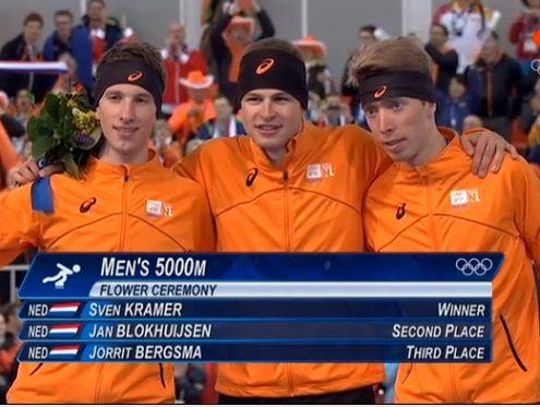 Sven Kramer prolongeert Olympische titel 5 km | Schaatsen