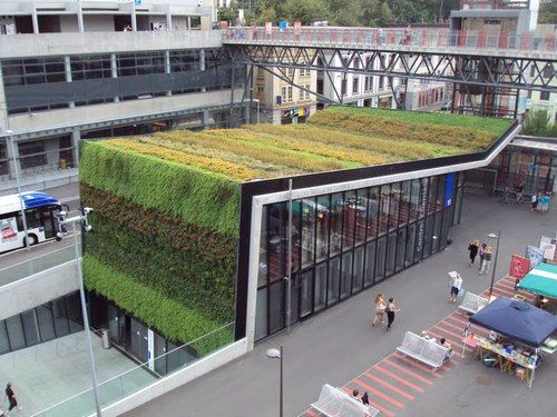 1000 images about green roof on pinterest green roofs for Buro lausanne