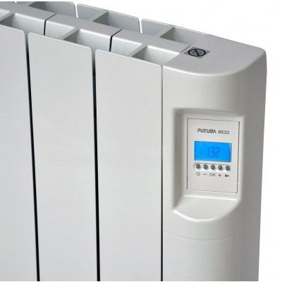 Futura Eco 1500W Electric Wall Mounted Oil Filled Radiator Eco Heaters Direct