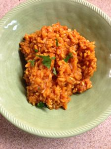 Mexican Brown Rice- Trim Healthy Mama e side dish