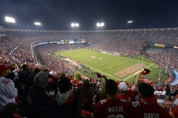 Candlestick Park being retired from 49er football by the end of the 2013 season.