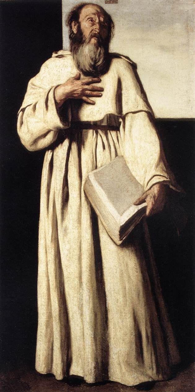 FALCONE, Aniello The Anchorite c. 1650 Oil on canvas, 102 x 53 cm Galleria Nazionale d'Arte Antica, Rome