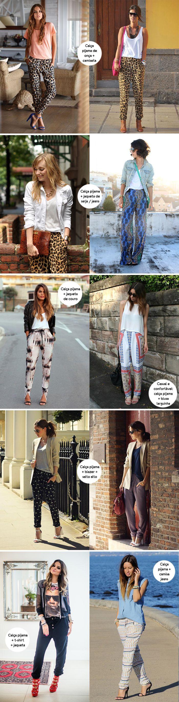 Para inspirar Calca pijama 02