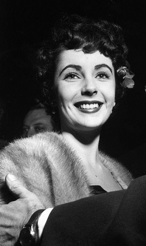 Elizabeth Taylor, 1949.