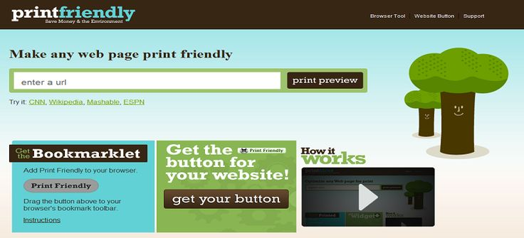 """Make your posts available as a pdf and make them """"Print Friendly"""""""