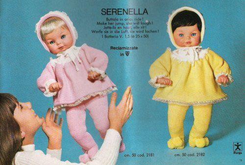 Serenella Furga 2 versioni Catalogo 1972