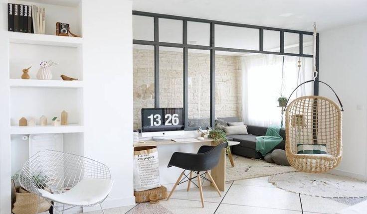 La verrière d'intérieur construire par Juliana et son conjoint © Juliana de Giacomi