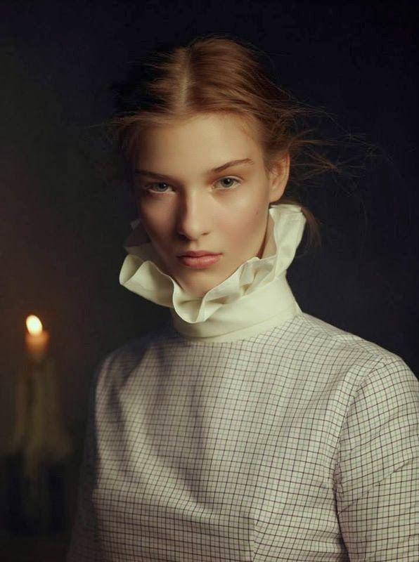 "Life in pics: Editorials: ""Light my fire"" - Elena Bartels by Baud Postma"