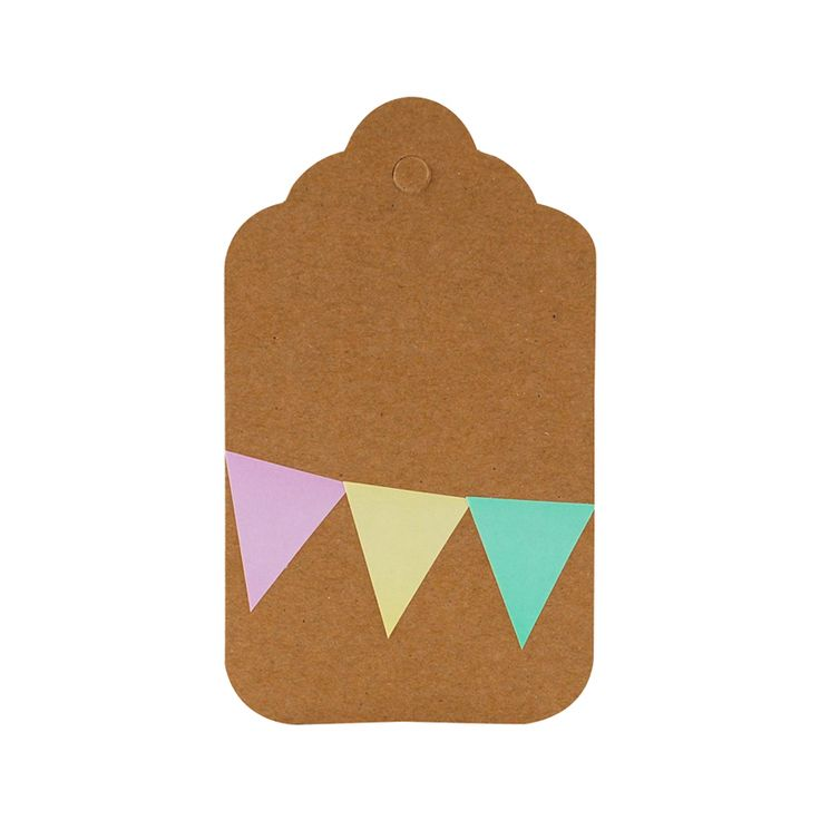 Our unique and versatile mini bunting stickers, in 5 pretty pastel colours, are ideal for scrapbooking, gift wrapping and card making. Contains 80 stickers.