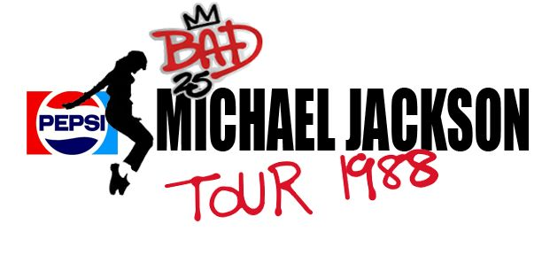 Back when Michael Jackson's Bad album reached its 25th anniversary (Bad25) and I made this digitally updated banner for his ten popular Bad World Tour 1988 sponsored by Pepsi. Enjoy <3