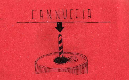 Italian Language ~ Cannuccia (Straw)