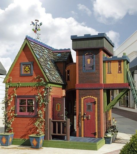 Now that's a play house!