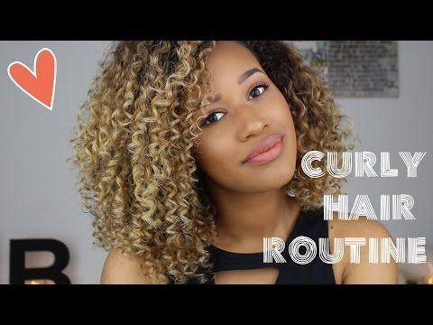 My Updated Curly Hair Routine | THEBETHMETHOD. - YouTube