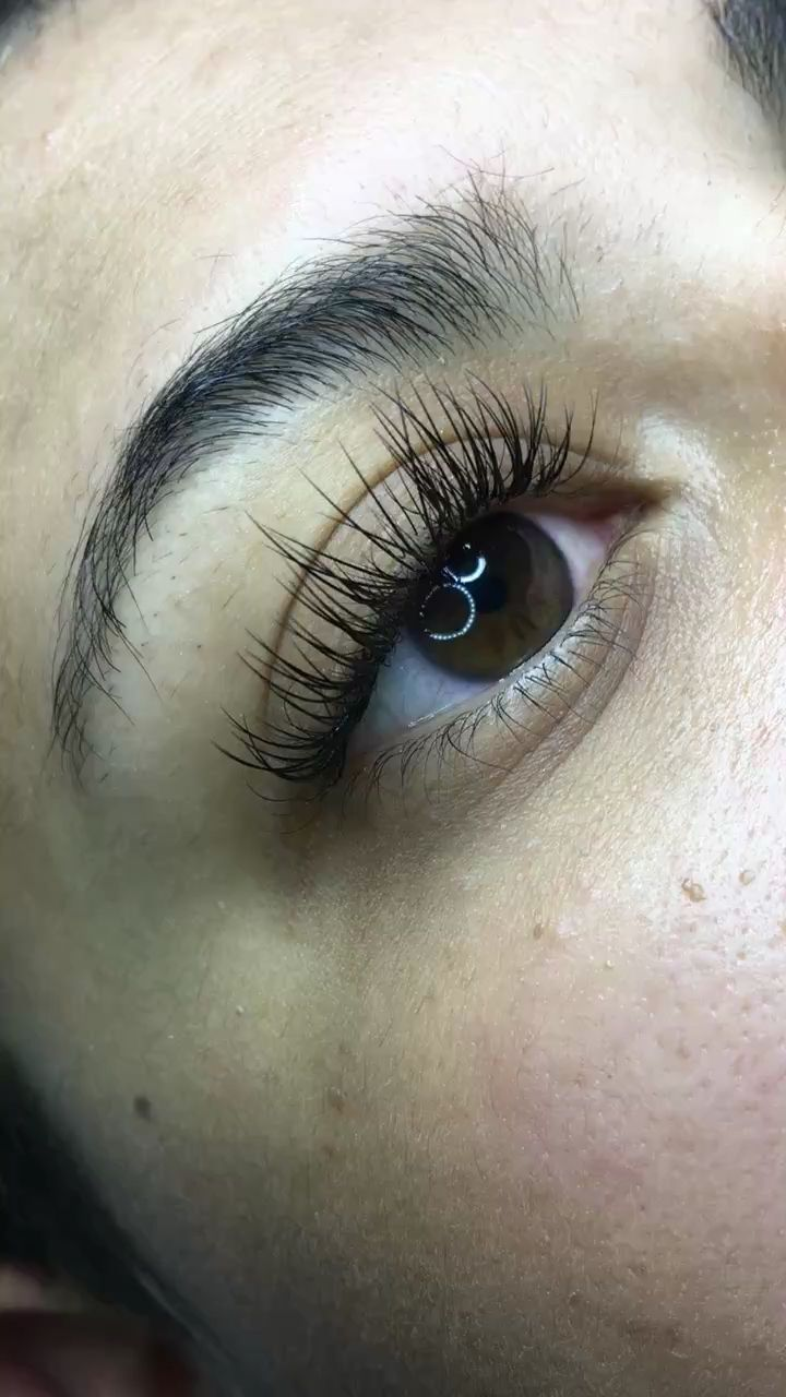 90f5e6b8263 Lush full lashes with #lashextensions by Kim Nguyen | Lash ...