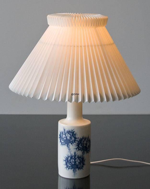 Bordlampe med Tidsel | stor | uden skærm | Nr. dg1850-2 | Alt. DG.1850 | DPH Trading