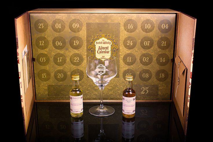 Un calendrier de l'avent fourré de whisky écossais - http://www.leshommesmodernes.com/calendrier-avent-whisky-ecossais/