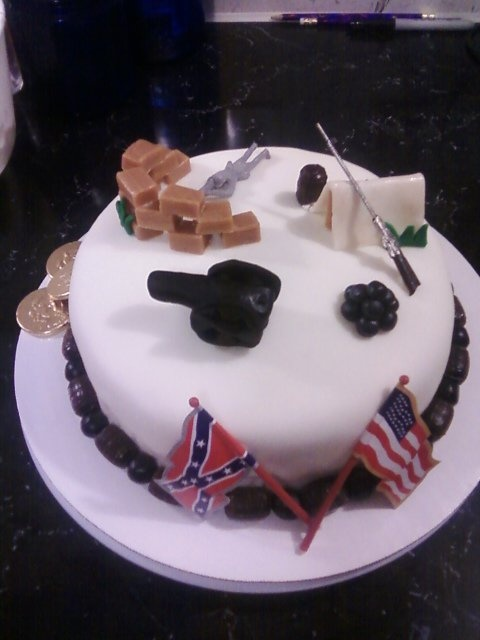 30 Best Images About Civil War Themed Cakes On Pinterest