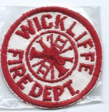 Wickliffe Ohio Fire Department patch