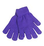 Touch Screen Purple Gloves - $5.85 at The Purple Store