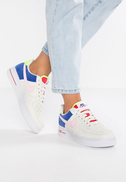 nike W AIR FORCE 1 LO SAILARCTIC PINK RACER BLUE bei