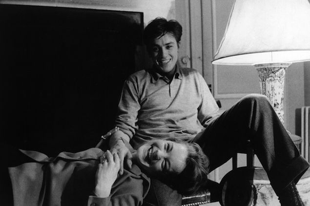 """""""When is One Ready to Get Married?"""" ~ Alain Delon And Romy Schneider"""