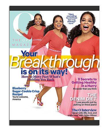 Love this The Oprah Magazine Subscription on #zulily! #zulilyfinds
