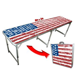 GoPong 8 Foot Beer Pong Table / Tailgate Table