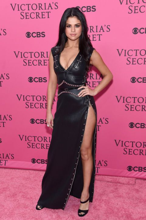 See all the best dressed A-Listers at the 20th Anniversary #VSFashionShow. Plus, click through to see all the Victoria's Secret Show coverage at HarpersBAZAAR.com: Selena Gomez.