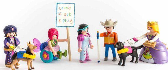 Domando Al Lobo: #137 #ToyLikeMe, muñecos con #discapacidad, enferm...