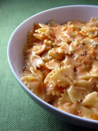 Creamy tomato basil pasta... You can get the same taste with just