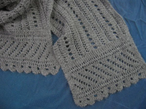 Baby Knit Blanket Patterns : 62 best images about Rebozos tejidos on Pinterest Hairpin lace, Crochet sca...