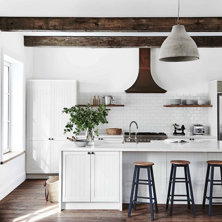 Is this the perfect country kitchen featuring ceiling for Perfect country kitchen