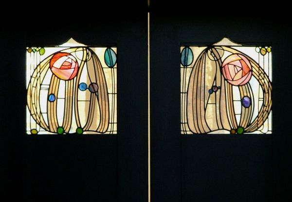 17 meilleures images propos de charles rennie mackintosh for Miroir vitrail modeles