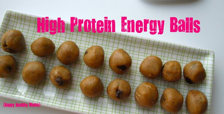 High Protein Energy Balls