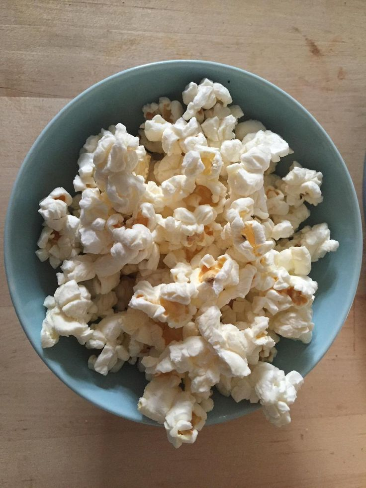 Homemade popcorn using garlic Coconut Oil by Nature's Way!
