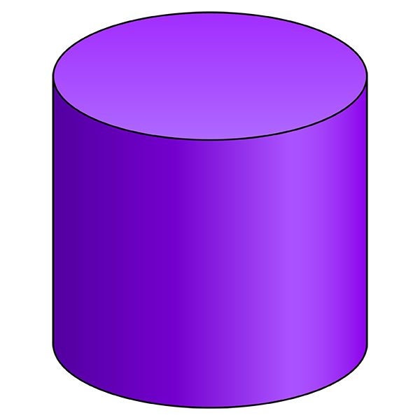 Cylinder - 3D Shape - Geometry - Nets of Solids ...