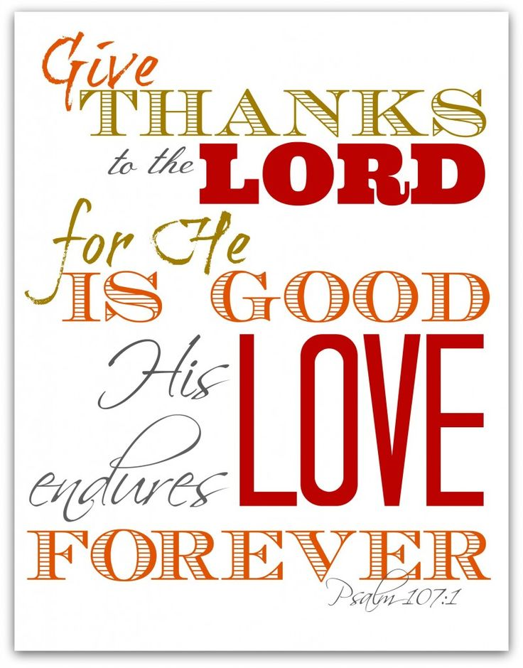Free scripture verse Thanksgiving printables!
