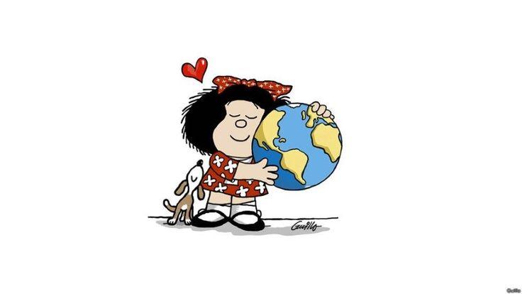 Mafalda, en versión de Guillo - 4 (© Derechos Reservados de la British Broadcasting Corporation Corporación Británica de Radiodifusión 2014)