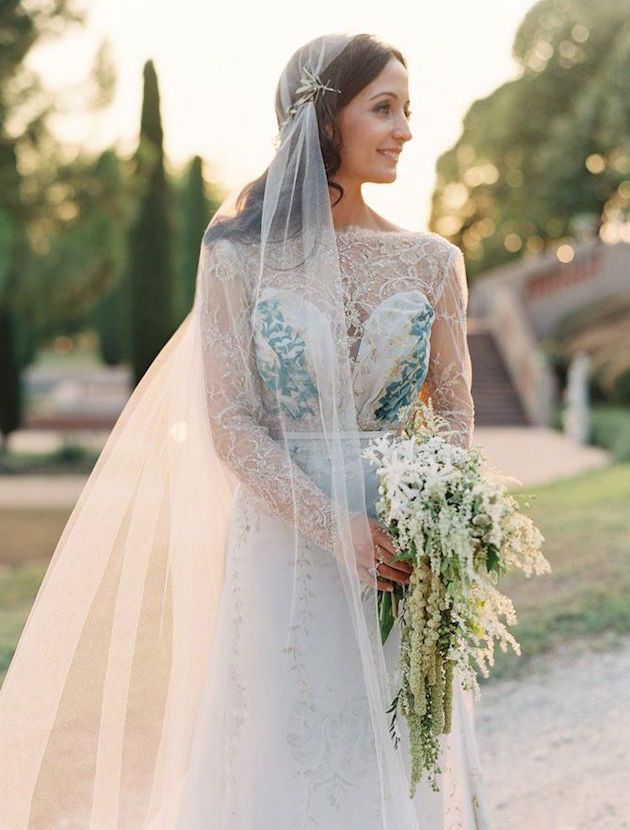 The Ultimate Guide to Bridal Veils: The Juliet Cap Veil | Bridal Musings Wedding Blog