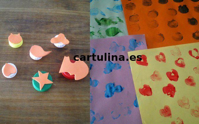 http://cartulina.es/manualidades-con-fomi-sellos/