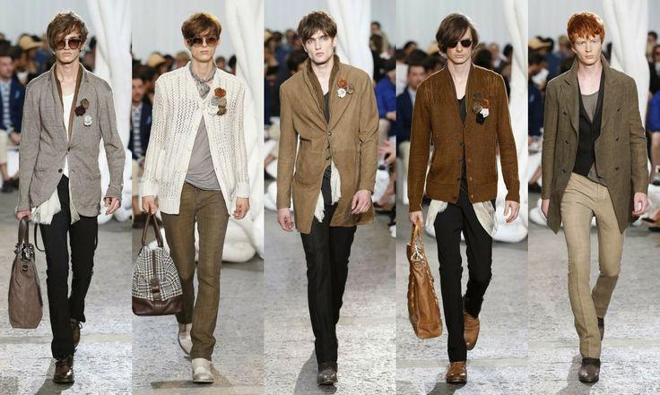 John Varvatos #Fashion #moda #men #hombre  http://cuchurutu.blogspot.com.es/2014/06/la-semana-de-la-moda-masculina-en-milan.html