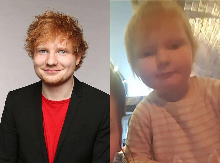 "Ed Sheeran Jokes About Look-Alike Baby: ""She's Not Mine!"""