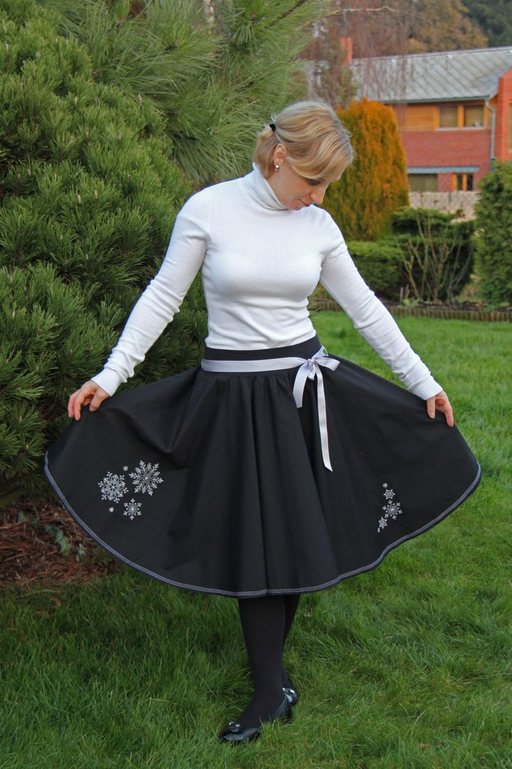 A personal favourite from my Etsy shop https://www.etsy.com/listing/476261646/full-circle-skirt-for-women-50s-style